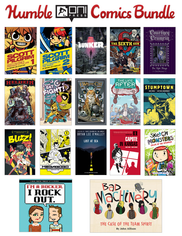 Humble Oni Press Comics Bundle (pay what you want and help charity)