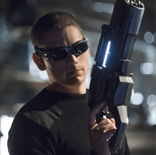 Photo of Wentworth Miller as Captain Cold via Geoff Johns' Instagram