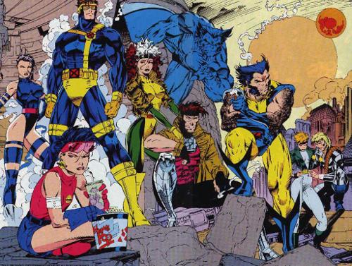 Jim Lee X-Men Cyclops Wolverine trunks pants