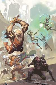 Uncanny Avengers #2 Cover, Art by Daniel Acuña