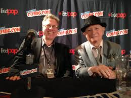 Danny Fingeroth and Irwin Hasen New York Comic Con October 2014