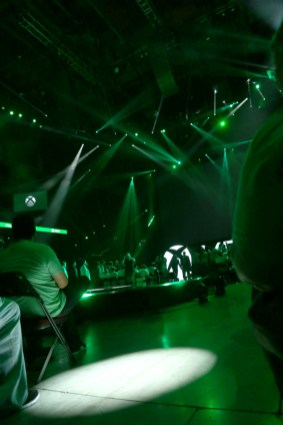 Xbox Media briefing stage