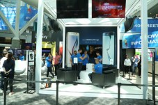 Samsung booth in South Lobby