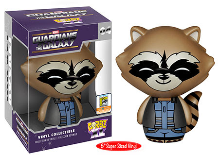 "Dorbz XL: Guardians of the Galaxy - 6"" Nova Suit Rocket Raccoon"
