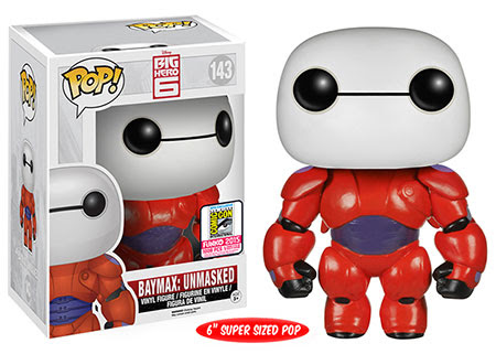 "Pop! Disney: Big Hero 6 - 6"" Baymax Unmasked"
