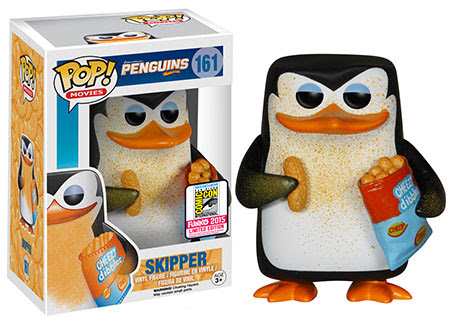 Pop! Movies: Penguins of Madagascar - Cheesy Skipper