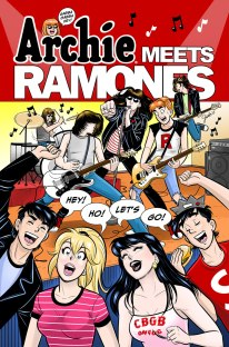 Archie Meets the Ramones, art by Gisele Lagace