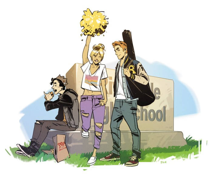 Archie #1 (art by Fiona Staples)