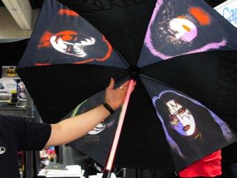 Kiss light up umbrella.