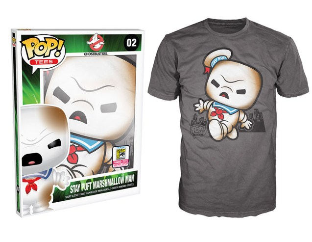 Pop! Tees: Ghostbusters - Burnt Stay Puft
