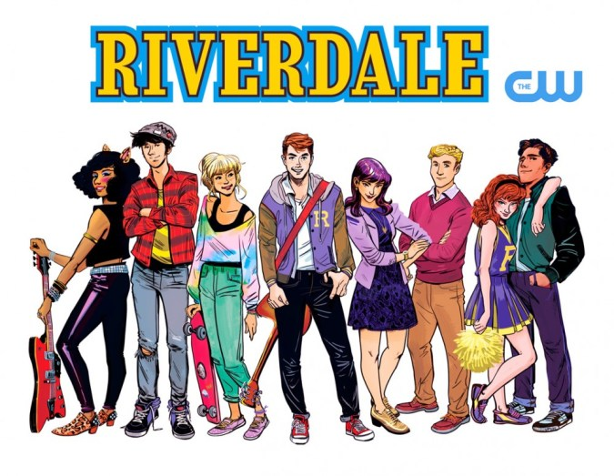 Riverdale TV Series on CW (Illustration by Veronica Fish)