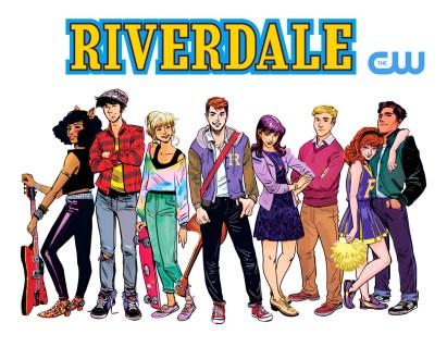 Riverdale TV Series, art by Veronica Fish