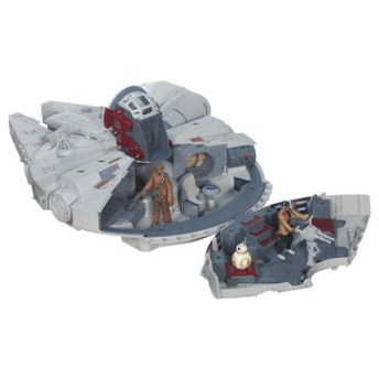 STAR WARS TFA BATTLE ACTION MILLENNIUM FALCON_2