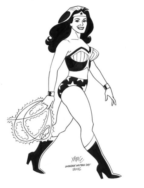 Jamie Hernandez Wonder Woman