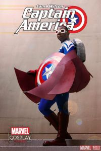 Eddie Newsome, Captain America!