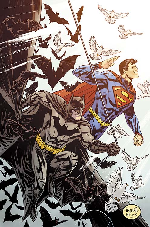 Batman/Superman #28 Cover by Yanick Paquette