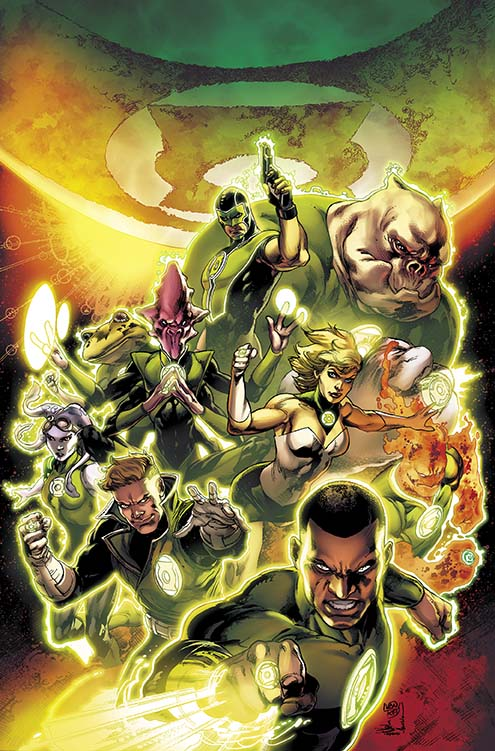 Green Lantern: Edge of Oblivion #1 Cover by Ethan Van Scriver