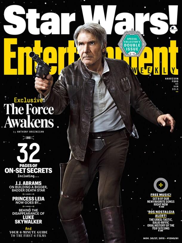 Harrison Ford EW