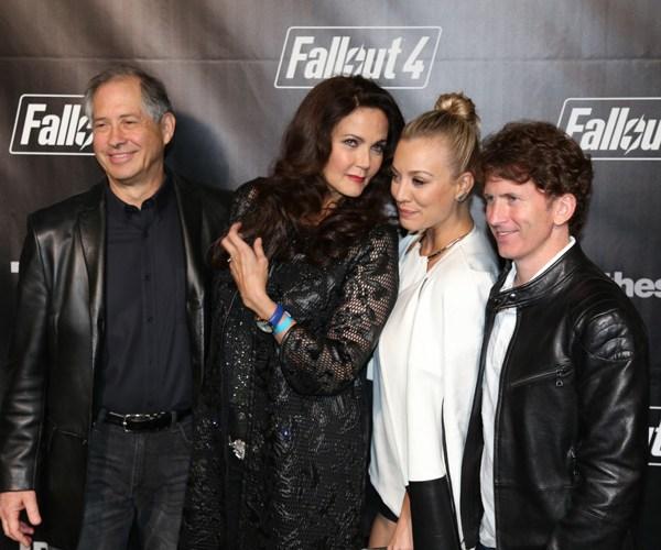 Robert Altman, Lynda Carter, Kaley Cuoco, Todd Howard