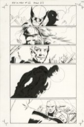 SAVED WHISKERS RESCUE - ASTONISHING X-MEN #12 PAGE 21 John Cassaday