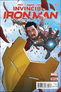 Orders dropped off pretty fast for Iron Man's relaunch.