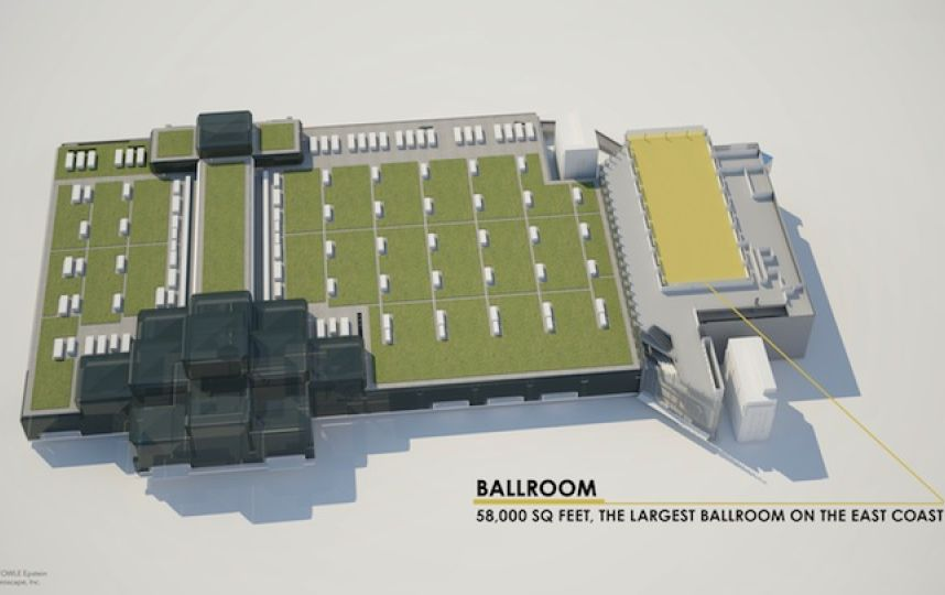 javits expansion ballroom 2015