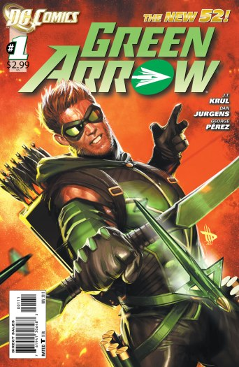 Green-Arrow-#1-cover-by-Dave-Wilkins