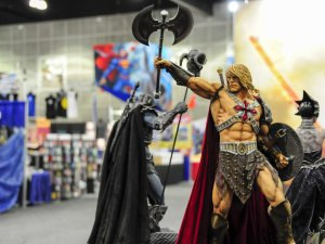 He-Man with battle axe