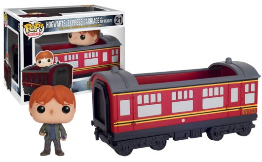 Funko's POP! Rides Series: Ron Weasley