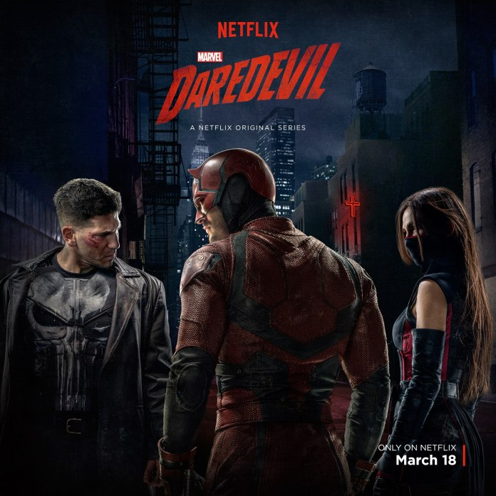 punisher daredevil elektra