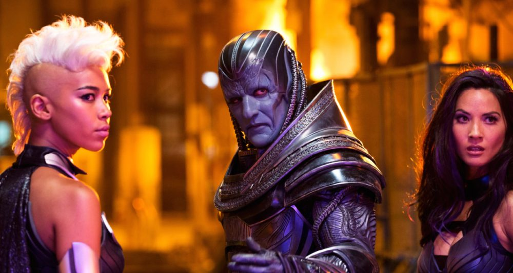 This old promo photo of X-Men Apocalypse, originally released to Empire, received some discussion because it looked like the entire film had a layer of pink post-produced over it. Bryan Singer responded by saying that that was not a final representation of the film's color scheme, but I think it would prove interesting if it were.