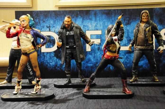 Suicide Squad: Harley Quinn, Boomerang, Katana, Killer Croc
