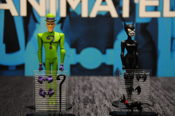 The Riddler and Catwoman