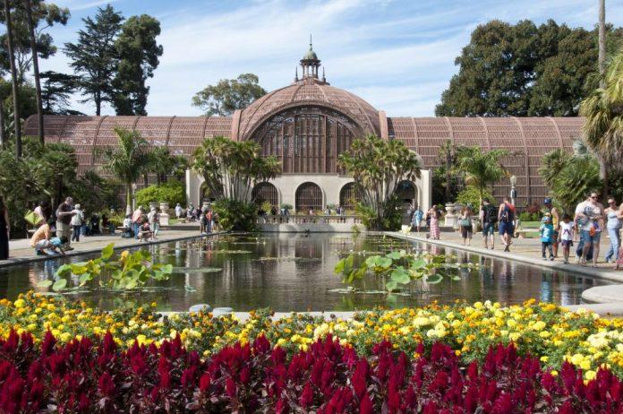 Botanical Gardens in Balboa Park