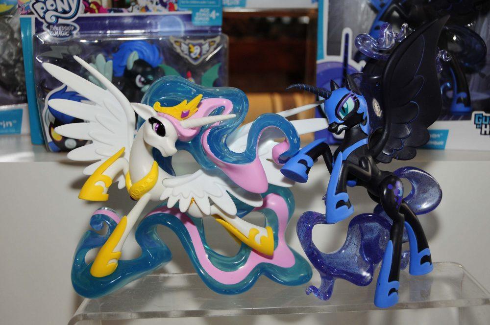 Princess Celestia & Nightmare Moon