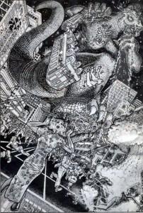 Godzilla by Alan Moore