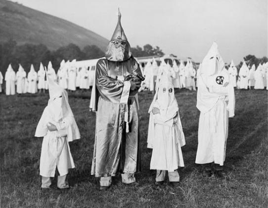children_with_dr-_samuel_green_ku_klux_klan_grand_dragon_july_24_1948