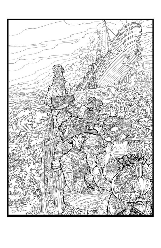 Salvation illustrated by Joelle Jones