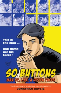 So Buttons Cover by Dean Haspiel