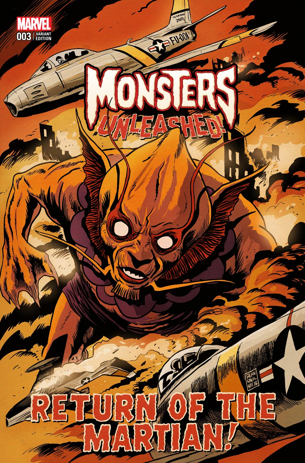 Monsters_Unleashed_3_Francavilla_Variant