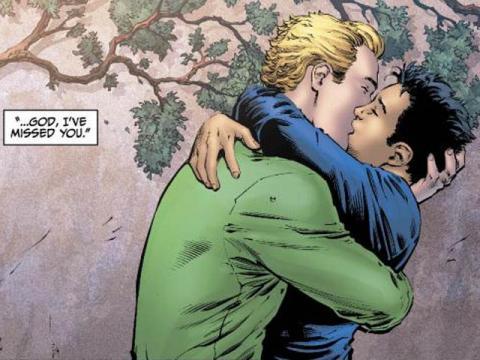 HH_Green Lantern KISS
