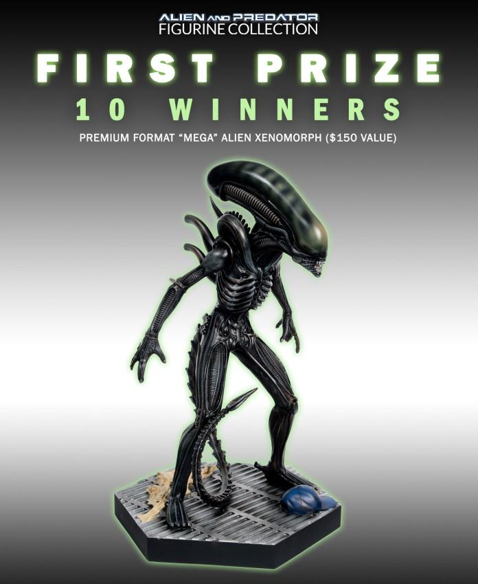 1st prize - mega xenomorph