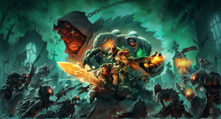 REVIEW: 16 Years After It's Last Issue, Does BATTLE CHASERS Find New Life as a Video Game?