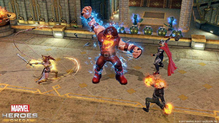 Marvel Heroes Games Play Online