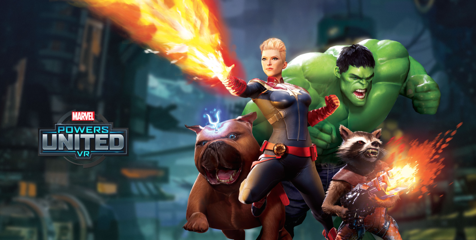 Become A Super Hero With Marvel Powers United VR