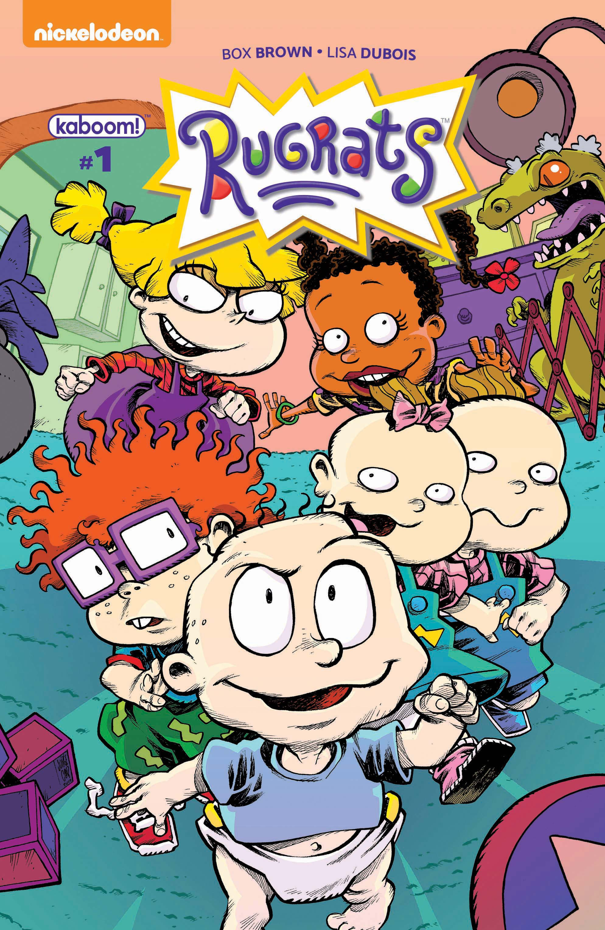 Theyve Partnered With Nickelodeon To Develop Comics Based On Some Of Their Cartoons From The 90s