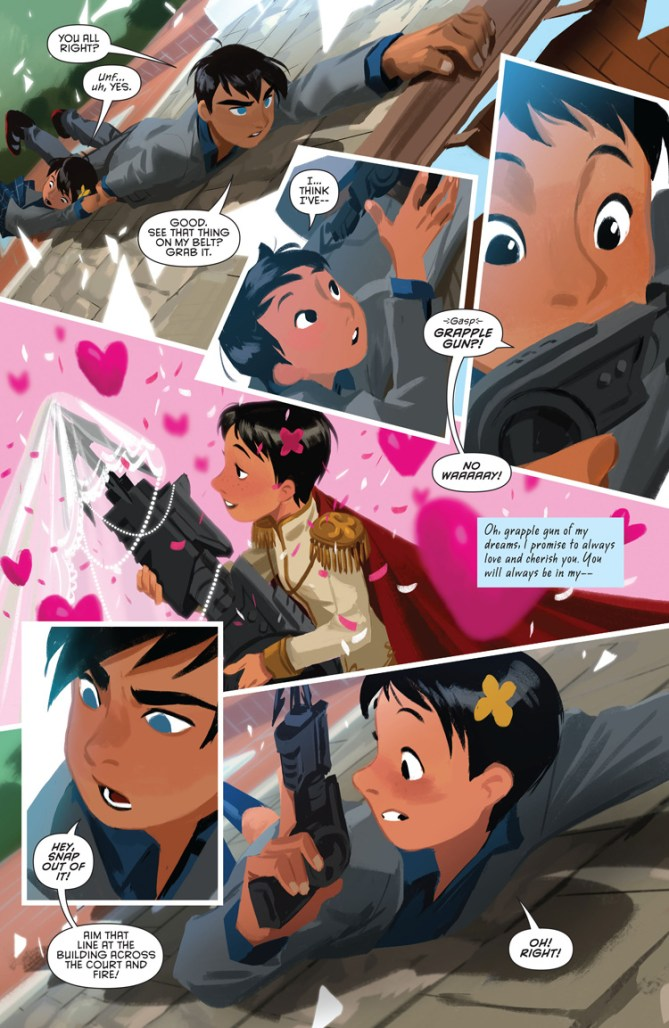 Gotham Academy's Second Semester ends today and we sign its yearbook