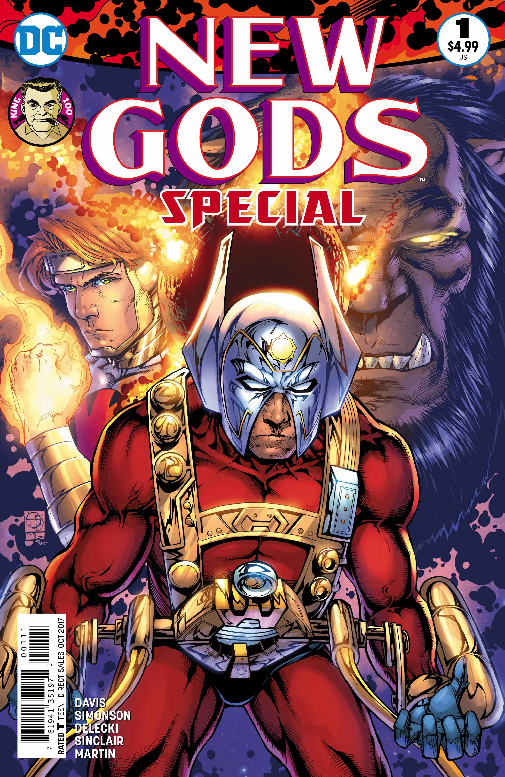 DC REBORN ROUND-UP: Jack Kirby's spirit is captured in the