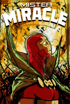 Mister Miracle #2 cover WIP