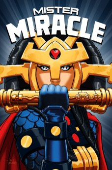 Mister Miracle #4 final cover by Nick Derington